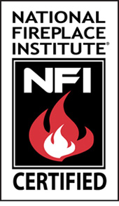 Flame Pro Tech Services of Tennessee is a certified gas fireplace technician with the National Fireplace Institute.